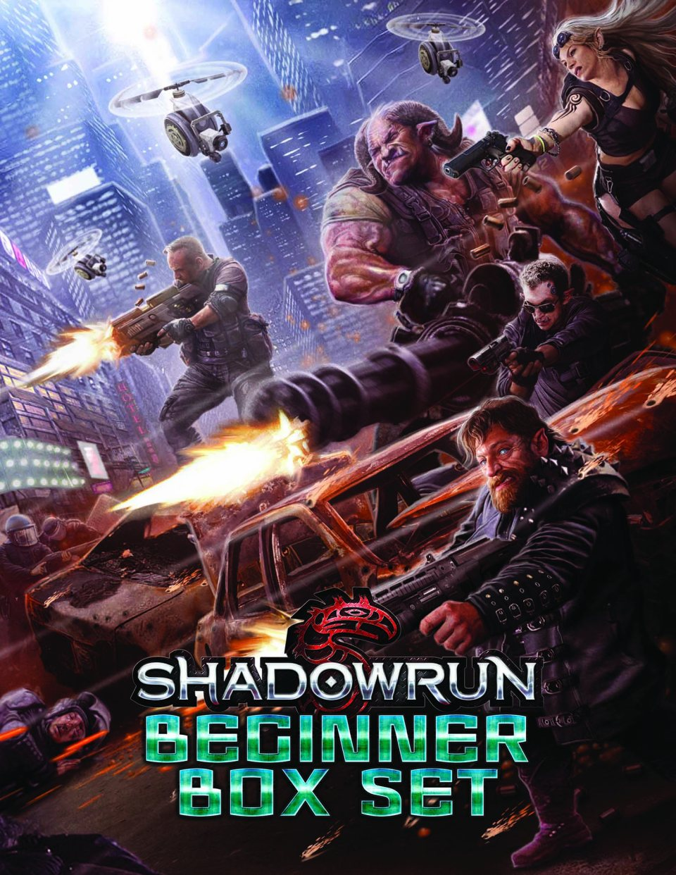 Shadowrun Beginner Box